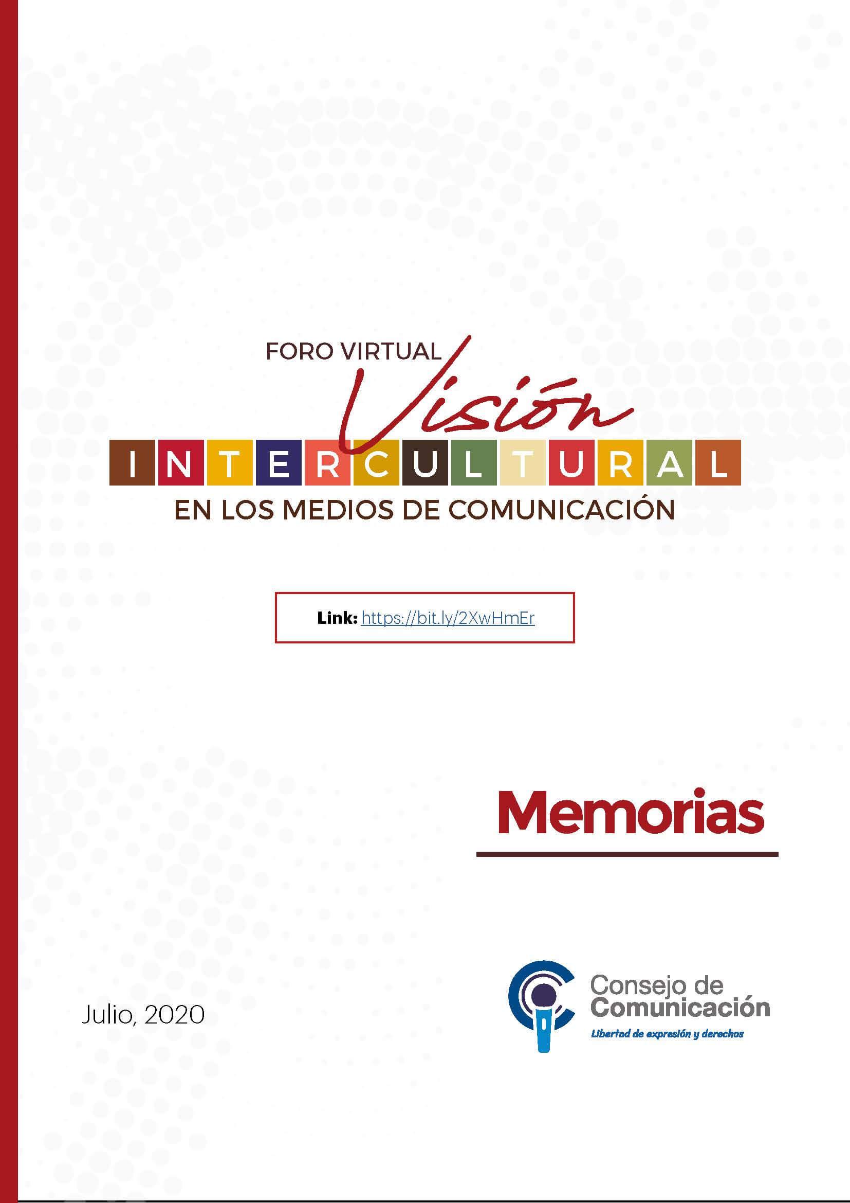 Foro Virtual Visión Intercultural en los Medios de Comunicación