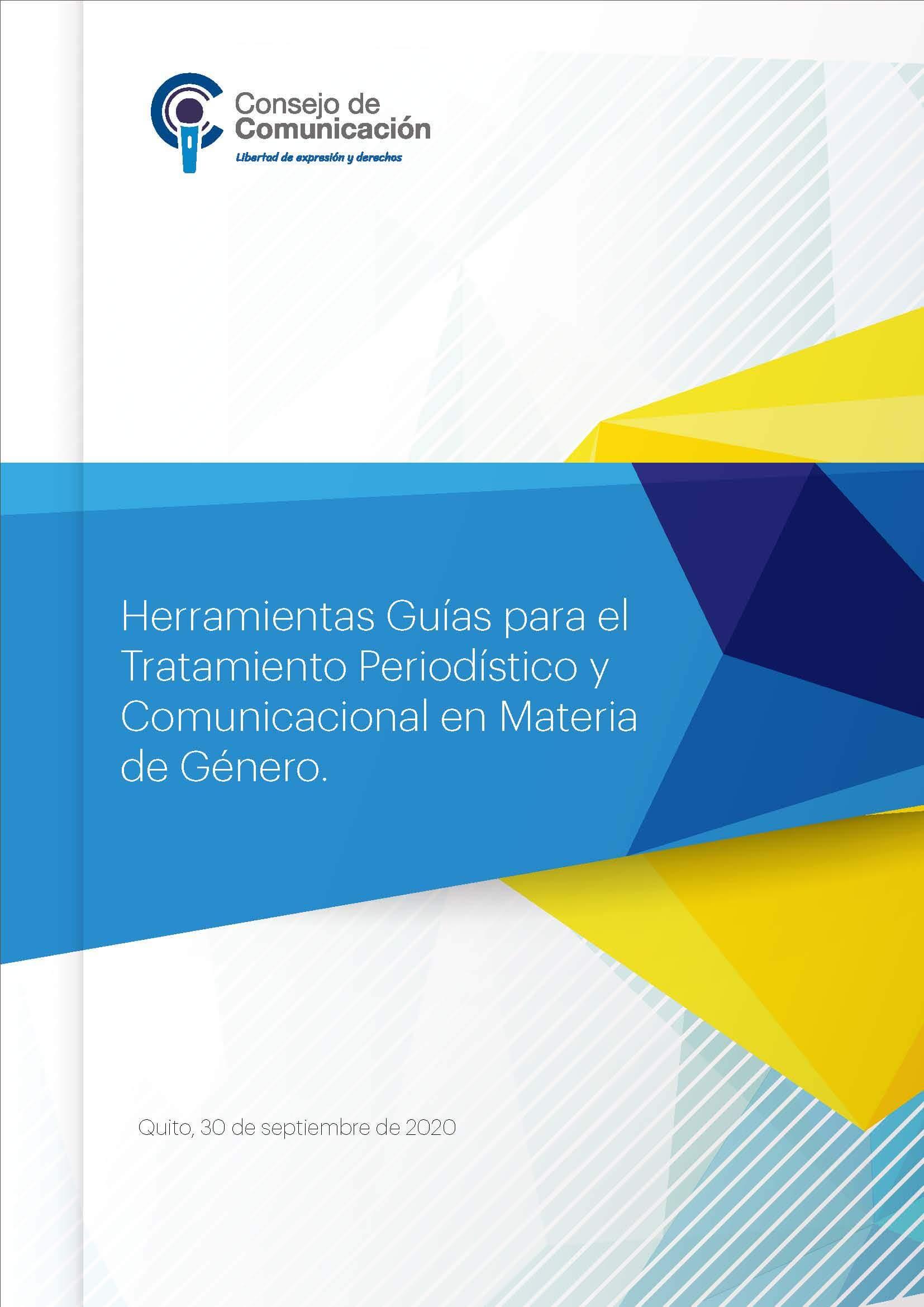 Herramientas Guías para el Tratamiento Periodístico y Comunicacional en Materia de Género