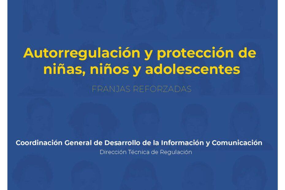 Autorregulación y protección de niñas, niños y adolescentes