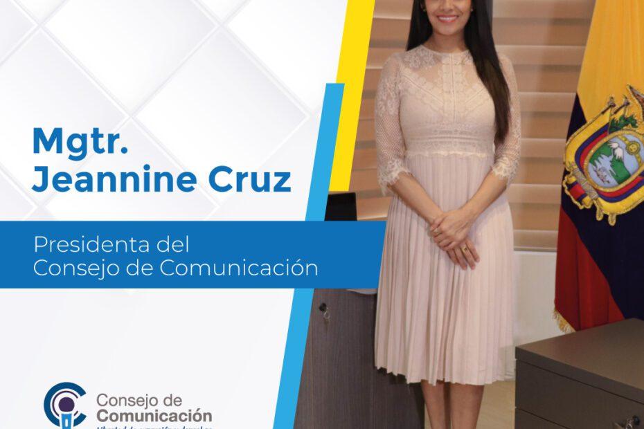 Presidenta Jeannine Cruz Boletín 11