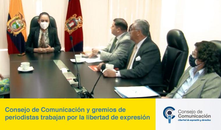 Consejo-de-Comunicación-y-gremios-de-periodistas-trabajan-por-la-libertad-de-expresión