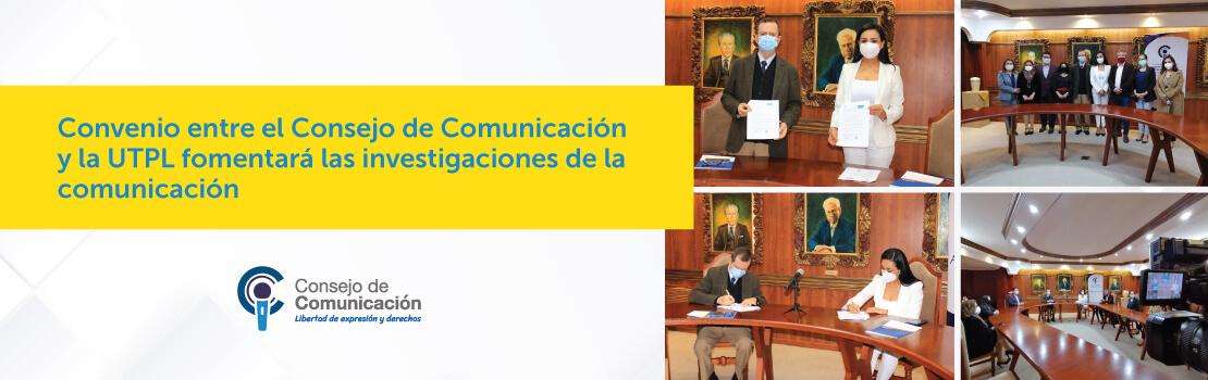 Banner El Consejo de Comunicación y la Defensoría Pública suscriben importante convenio
