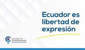 Ecuador es libertad de expresión