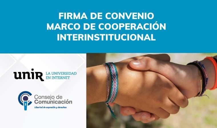 Firma de Convenio de Cooperación Interinstitucional
